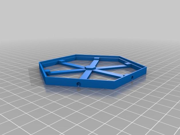 磁力六贯棋瓦片模型