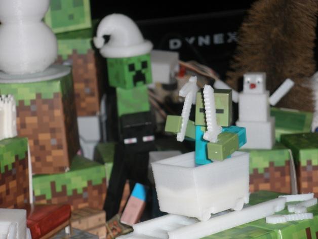 Minecraft玩偶武器包