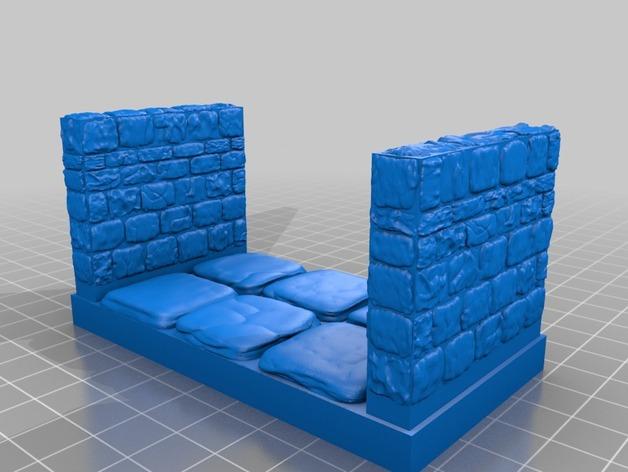 OpenForge雉堞走廊模型