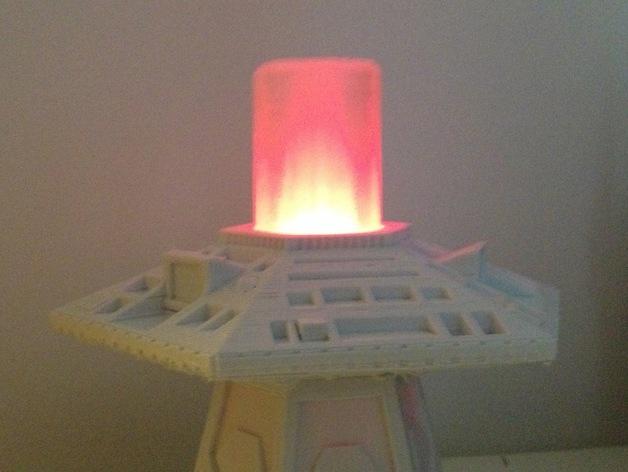 Doctor Who:塔迪斯时间机器 3D打印模型渲染图