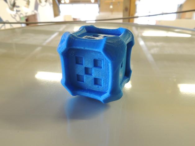风格各异的六面体骰子模型