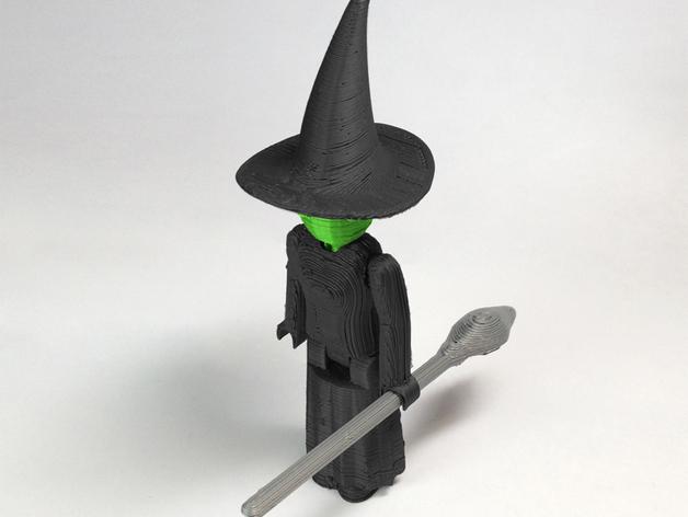 MakerBot巫师模型 3D打印模型渲染图