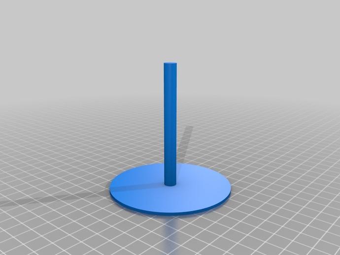 圆形磁铁标杆模型