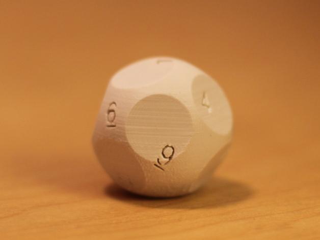 N面骰子模型 3D打印模型渲染图