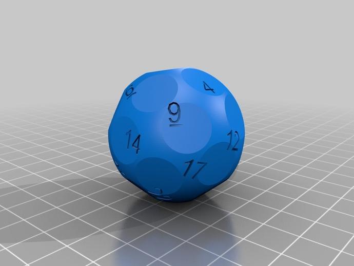 N面骰子模型