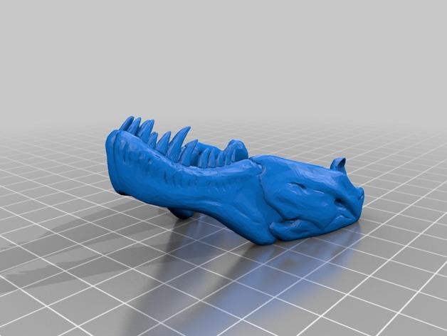 恐龙玩偶Rex模型