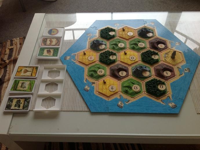 卡坦岛游戏卡盒模型