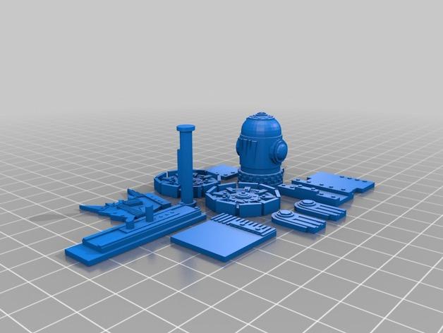 Goblin迫击炮模型