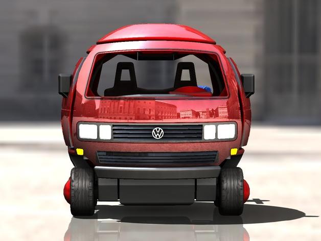 迷你大众T3玩具车模型