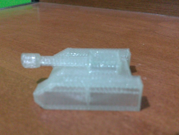 迷你坦克模型