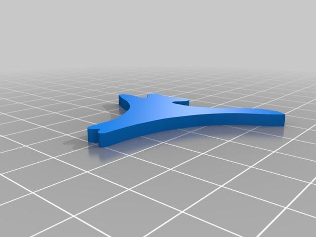 神仙鱼拼图模型