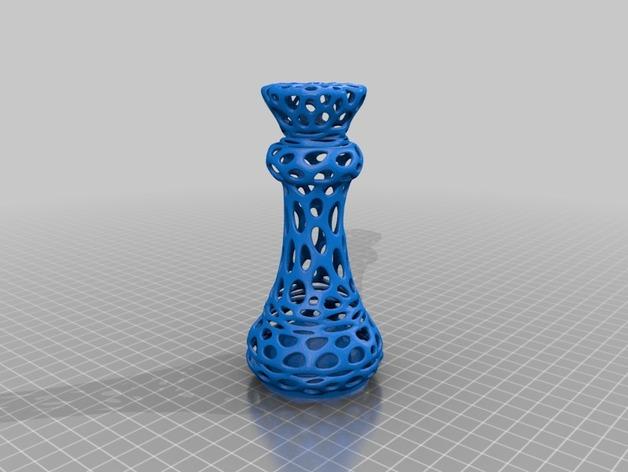 泰森多边形镂空象棋