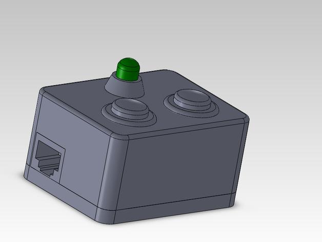 输入模块化箱罩模型