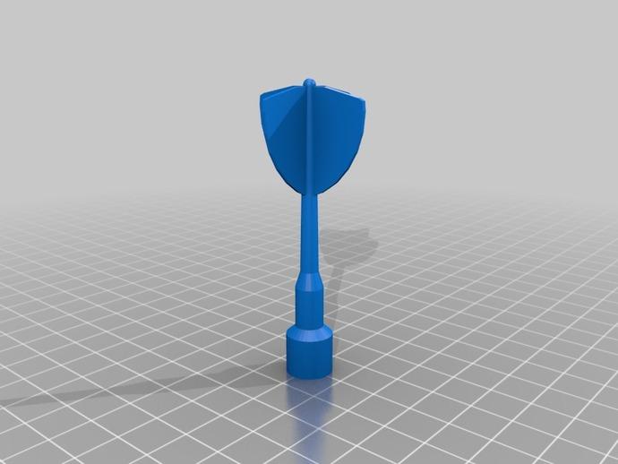 磁力飞镖模型