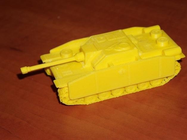 坦克:Stug自行突击炮