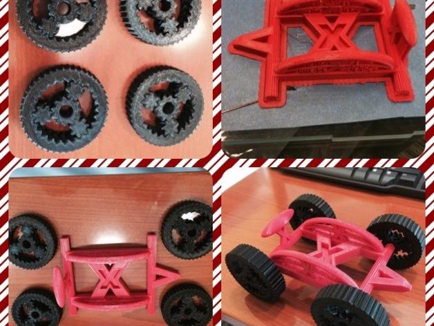 艾瑞欧原子玩具赛车