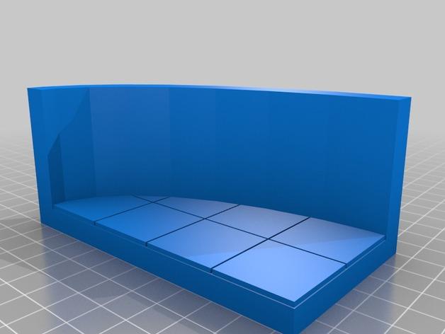 OpenForge弧形墙壁模型