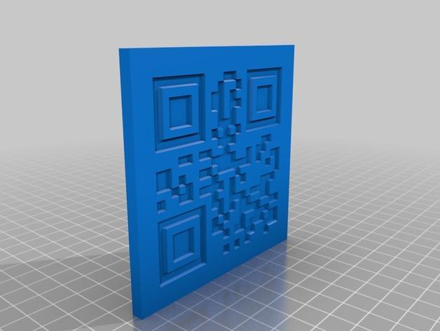 二维码骰子模型