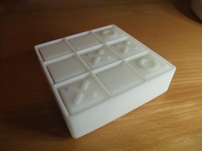 迷你井子棋模型 3D打印模型渲染图