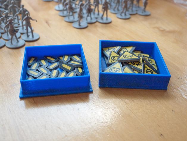丧尸围城:游戏道具盒 3D打印模型渲染图