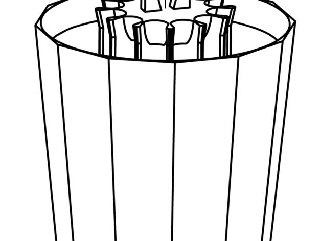 火箭 铅笔盒