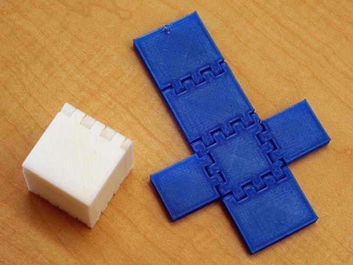 铰链 正方体盒子 3D打印模型渲染图