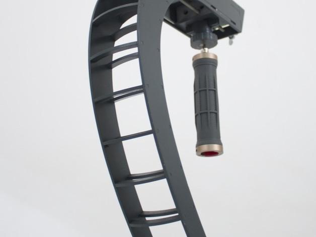 摄影机稳定器 3D打印模型渲染图