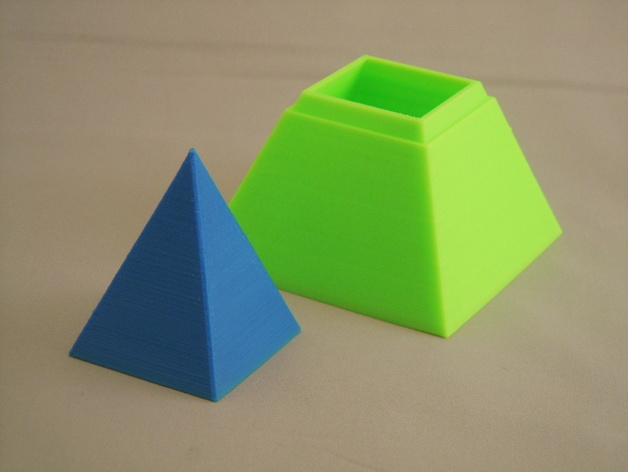 金字塔形储物盒