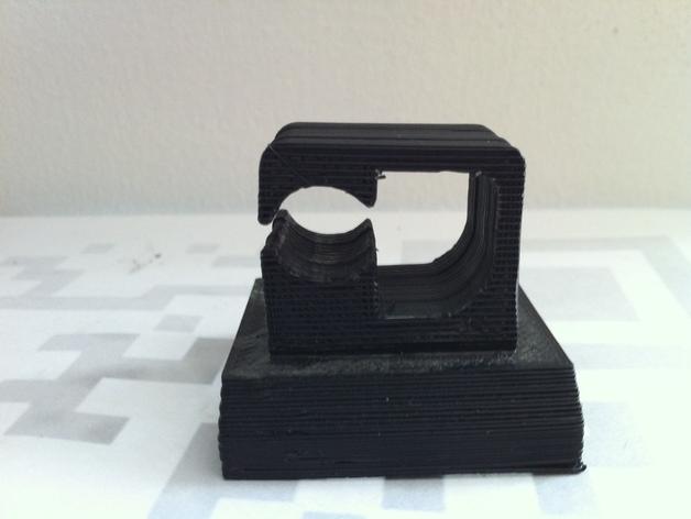 激光笔架 3D打印模型渲染图