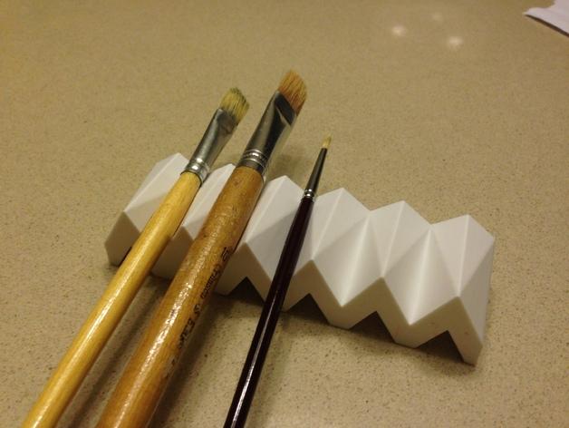 画笔架 3D打印模型渲染图
