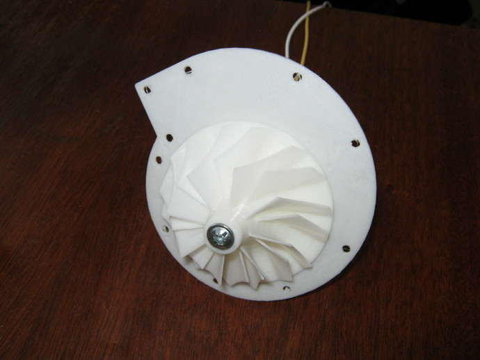 12v直流电动涡轮电机