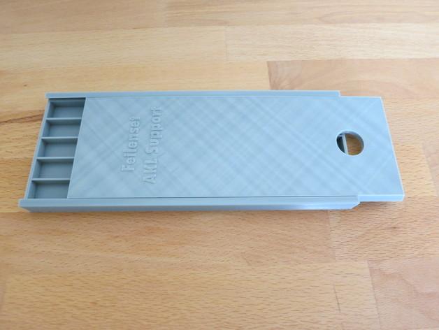 文件盒 3D打印模型渲染图