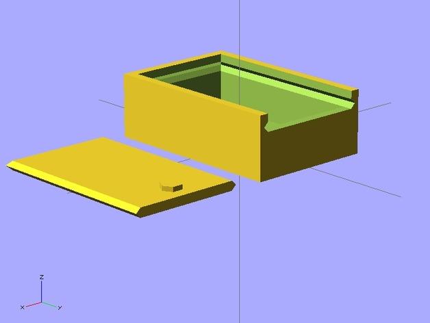 参数化滑动小盒