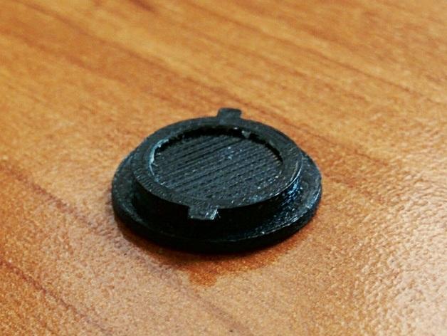 圆形电池盖