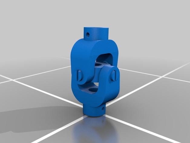 万向接头 3D打印模型渲染图