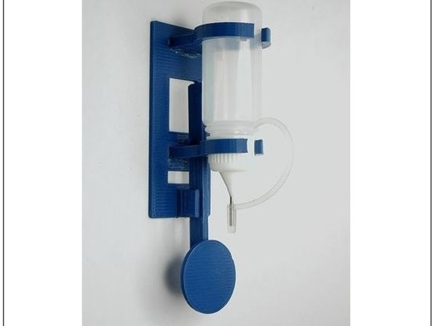 迷你液体喷雾器 3D打印模型渲染图