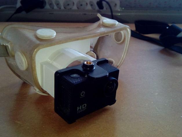 便携式GoPro相机架
