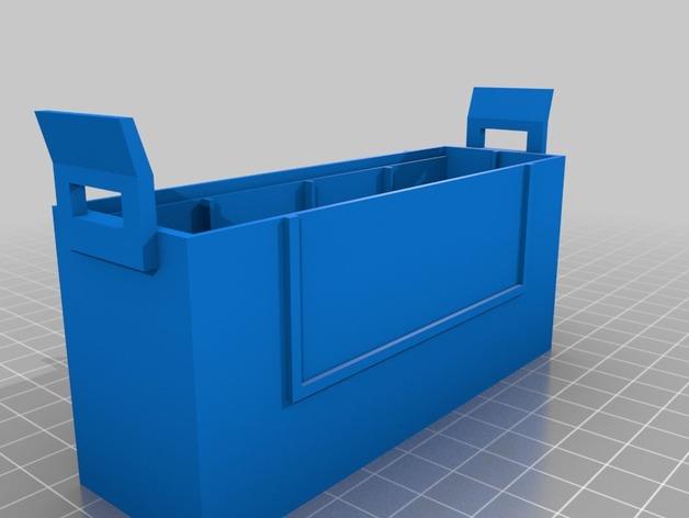 硬盘盒 3D打印模型渲染图
