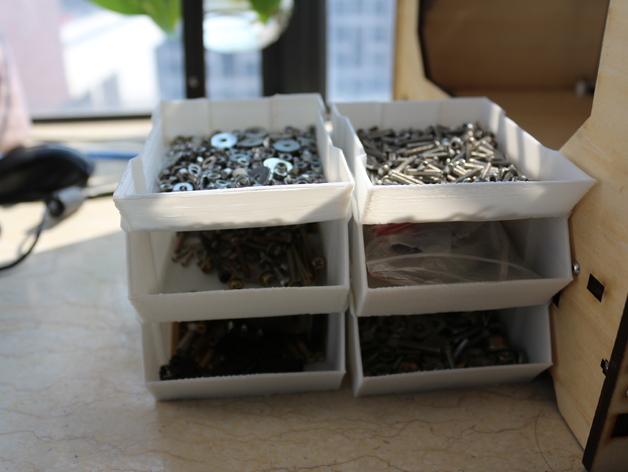 可堆叠的工具箱