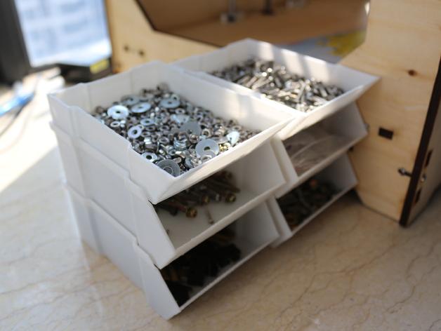 可堆叠的工具箱 3D打印模型渲染图