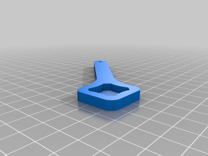 GoPro安装配件:螺旋扳手