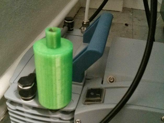 真空泵消音器 3D打印模型渲染图