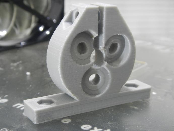定制化滚珠螺杆 3D打印模型渲染图