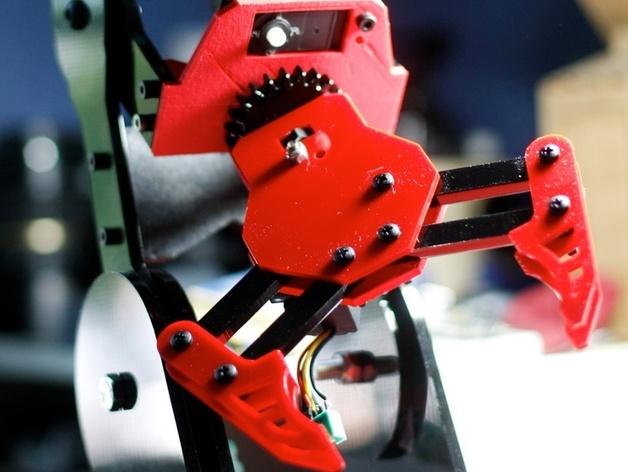 机器人机械臂 3D打印模型渲染图