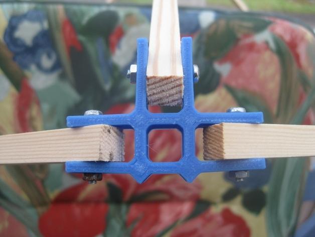 通用框架连接器 3D打印模型渲染图