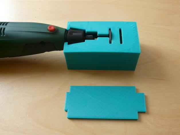 无绳研磨机置放架 3D打印模型渲染图