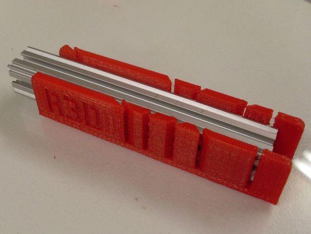 钢锯条收纳架 3D打印模型渲染图