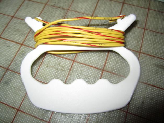 手持式卷线器 3D打印模型渲染图