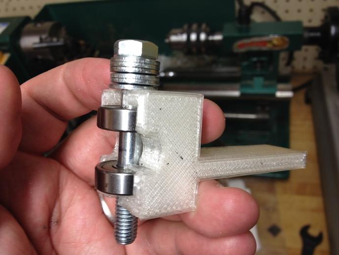 小型车床螺丝切割模具
