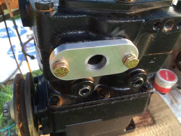 空气压缩机配适器底座